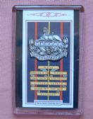 GLOUCESTERSHIRE REGIMENT CAP BADGE FRIDGE MAGNET (1939)
